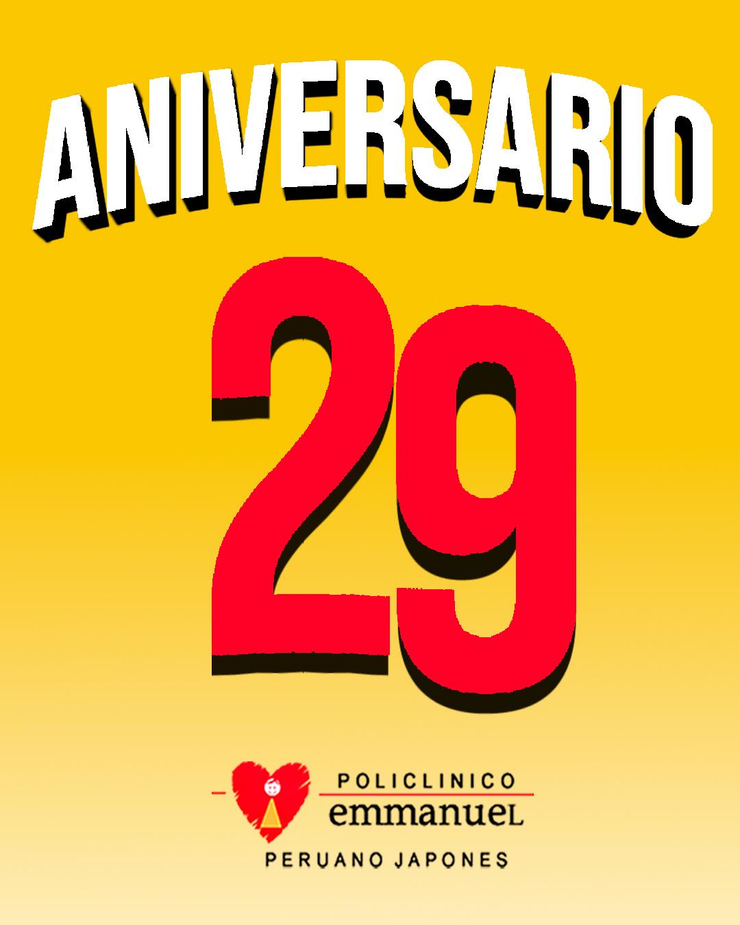 29 Aniversario Emmanuel xd 2